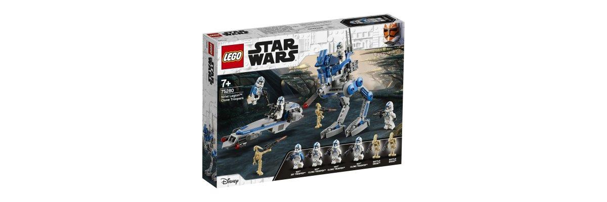 LEGO Star Wars – die 501. und Darth Vader im Weihnachtspulli? -