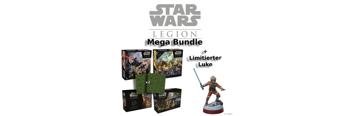 Star Wars: Legion Luke Skywalker (Limitierte Sonderedition) -
