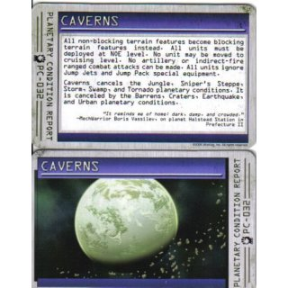 Planetary Condition Report: Caverns