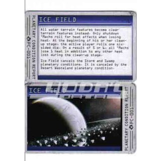 Planetary Condition Report: Ice Field