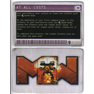 M-004 At all Costs - Mission