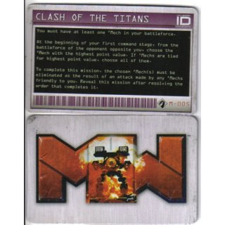 M-005 Clash of the Titans - Mission