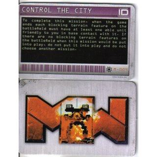 M-009 Control the City - Mission