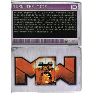 M-011 Turn the Tide - Mission