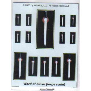 Word of Blake large scale Decals