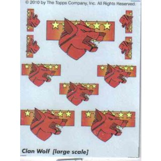 Clan Wolf Decals large scale