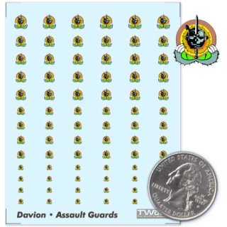 House Davion - Assault Guards Decals