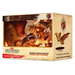 D&D Icons of the Realms - Tyranny of Dragons: Ancient Brass Dragon - Premium Figure