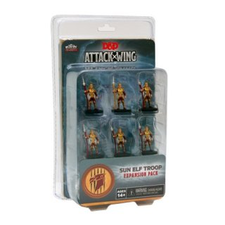Dungeons and Dragons: Attack Wing - Sun Elf Guard Troop