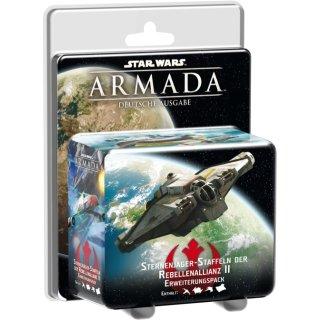 Star Wars: Armada - Sternenjägerstaffeln der Rebellenallianz II - Erweiterung - DE