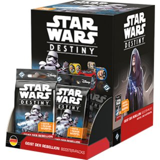 Star Wars: Destiny - Geist der Rebellion Booster Display (36) dt.