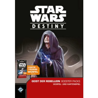 Star Wars: Destiny - Geist der Rebellion Booster dt.