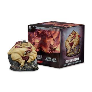 Dungeons & Dragons: Storm Kings Thunder - Chief Guh Premium Figure