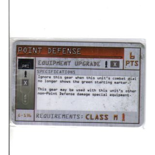 Point Defense - Class M