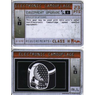 Electronic Camouflage - Class H