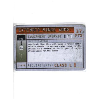 Extended-Range Ammo - Class L