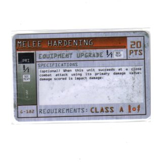 Melee Hardening - Class A
