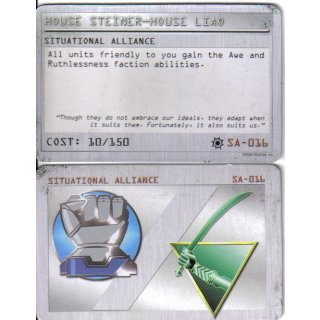 Situational Alliance: House Liao - House Steiner