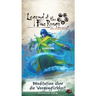 L5R: Legend of the 5 Rings: LCG - Meditation über die Vergänglichkeit - Kaiserreich 6