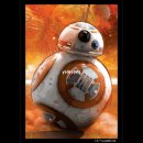 BB-8 Art Sleeves z.B. für Destiny/X-wing