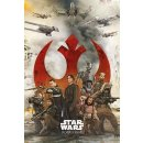 Star Wars Rogue One Poster Rebels 61 x 91 cm