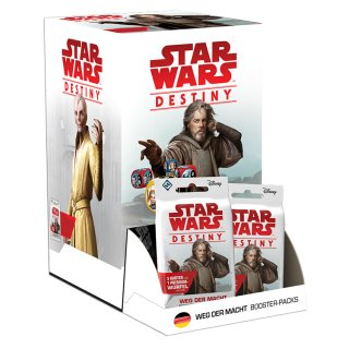 Star Wars: Destiny - Weg der Macht Booster Display (36) dt.