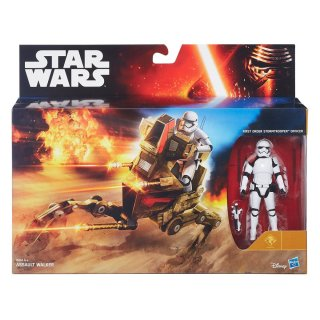 Star Wars Exclusive Assault Walker mit First Order Stormtrooper Officer