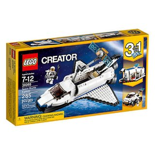 LEGO Creator: Forschungs-Spaceshuttle