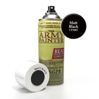 The Army Painter: Base Primer - Matt Black