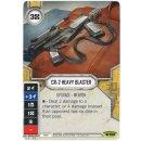 104 CR-2 Heavy Blaster - Einzelkarte + Würfel