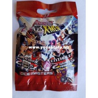 Dice Masters: Avengers vs. X-Men Foil Booster 10er Pack DE/FR