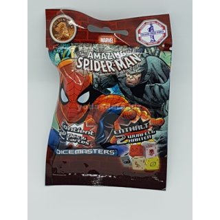 Marvel Dice Masters - Spider Man - Gravity Feed 10 Foil Booster (DE|FR)