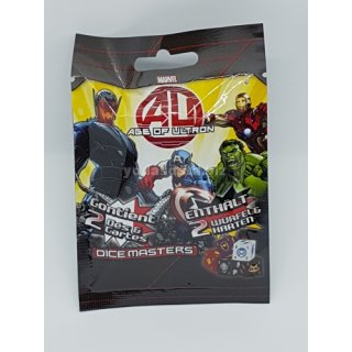 Marvel Dice Masters - Avengers Age of Ultron Gravity Feed Booster (DE/FR)