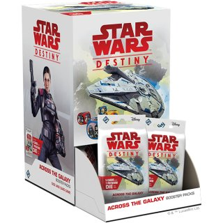 Star Wars: Destiny - Durch die Galaxis Booster Display (36) dt.