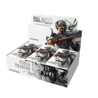 Final Fantasy TCG: Opus VI - Booster Display + 1 Promokarte - DE