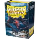 Dragon Shield Standard Sleeves - Matte (100 Sleeves) - Black