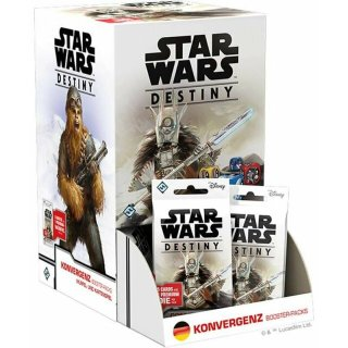 Star Wars: Destiny - Konvergenz Booster Display (36 Packs) - DE