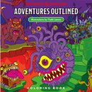 D&D: Adventures - Outlined Coloring Book - EN