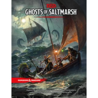 Dungeons & Dragons RPG - Ghosts of Saltmarsh - EN