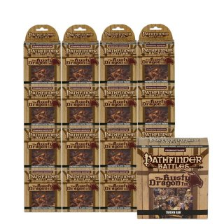 Pathfinder Battles The Rusty Dragon Inn Case (32 Booster) + Premium Set