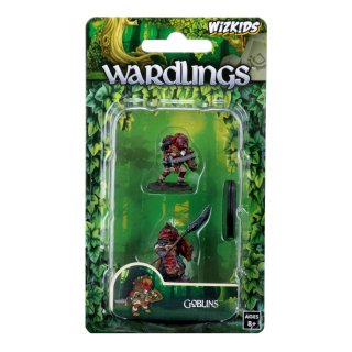 WizKids Painted Miniatures: Goblin (Male) & Goblin (Female)