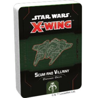 Star Wars X-Wing: Scum and Villainy Damage Deck - EN