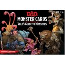 D&D Monster Cards - Volos Guide To Monsters (81 Cards) - EN