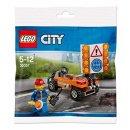 LEGO City - 30357 Baustellen Absicherung Polybag