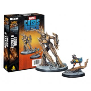 Marvel Crisis Protocol: Rocket and Groot - EN