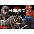 D&D: Monsterkarten - HG 6-16 - DE