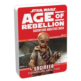 Star Wars: Age of Rebellion - Engineer Signature Abilities Deck - Specialization Decks - EN