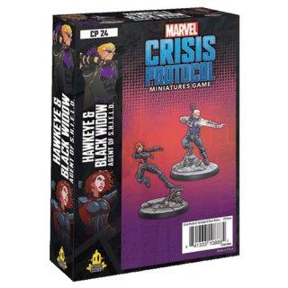 Marvel Crisis Protocol: Hawkeye & Black Widow - EN