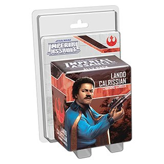 Star Wars: Imperial Assault - Lando Calrissian Ally Pack - EN