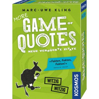 More Game of Quotes - DE